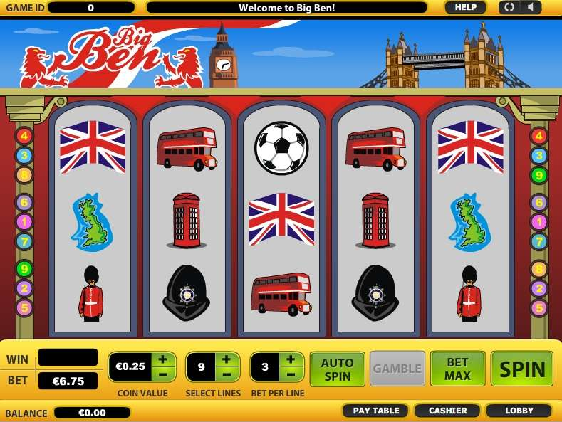 Big Ben Casino Game