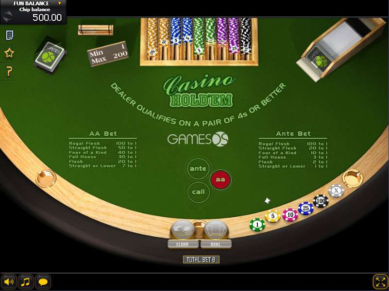 Play casino holdem online free myway game casino