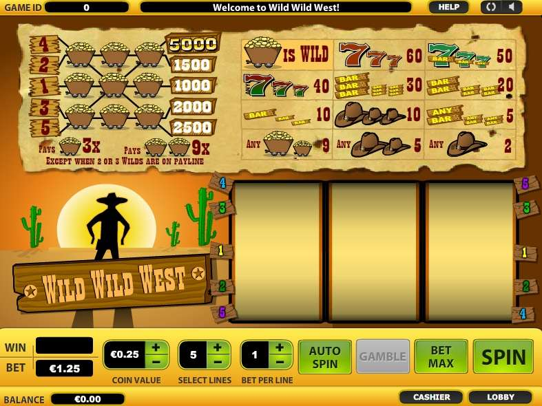 Wild Wild West by Cozy Games