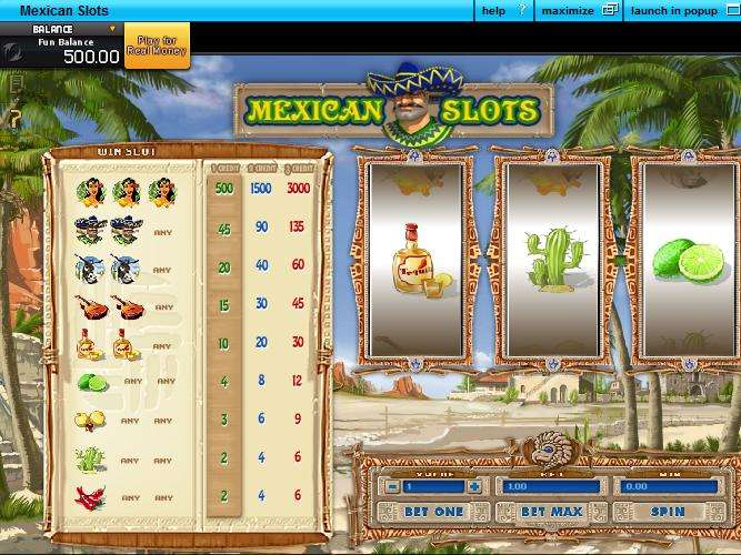 Mexican Slots by GamesOS