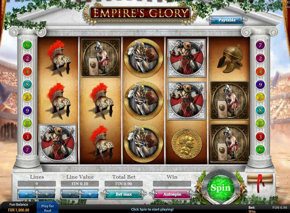 Empires Glory Slot - Play the Online Version for Free