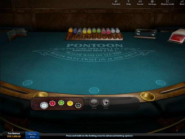 Online Pontoon – Play Our Free Pontoon Game Online
