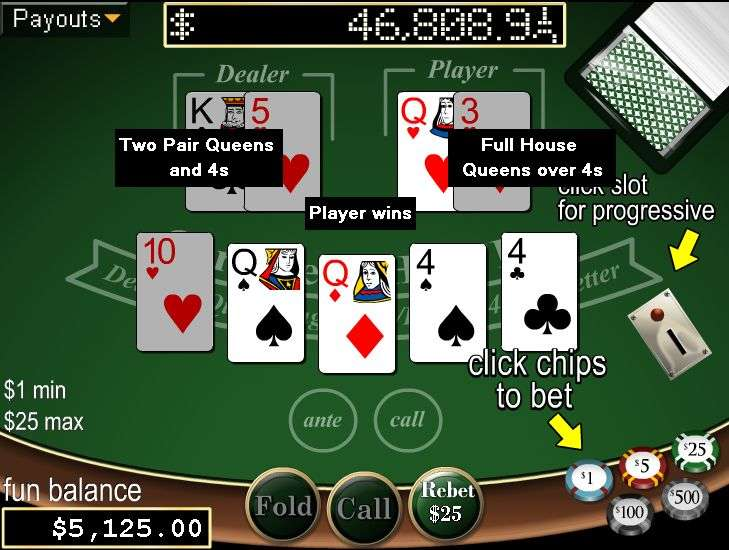 Caribbean Hold'em Poker by Real Time Gaming