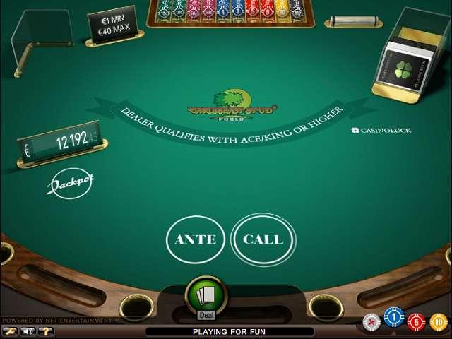 Free Caribbean Poker