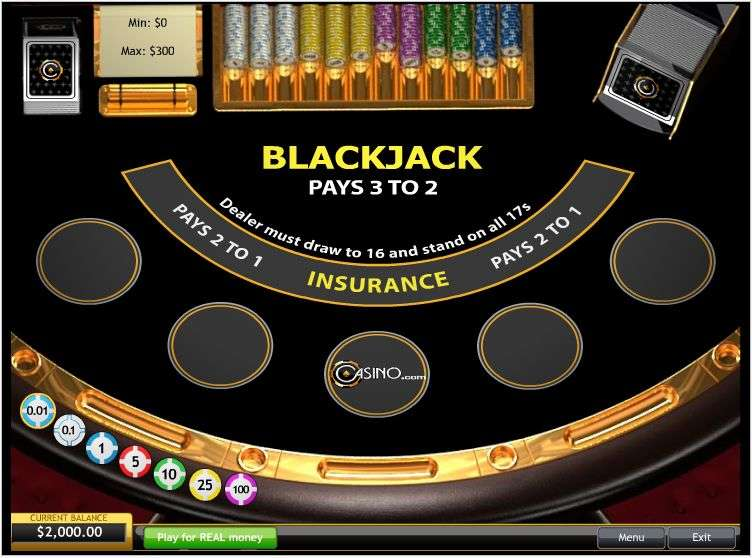 Play Blackjack Surrender 5 Hand Mode Blackjack From Playtech For Free