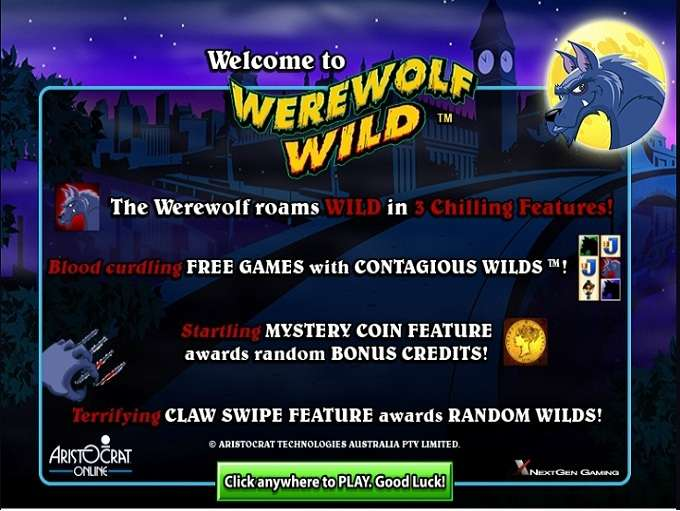 Werewolf Wild by Aristocrat