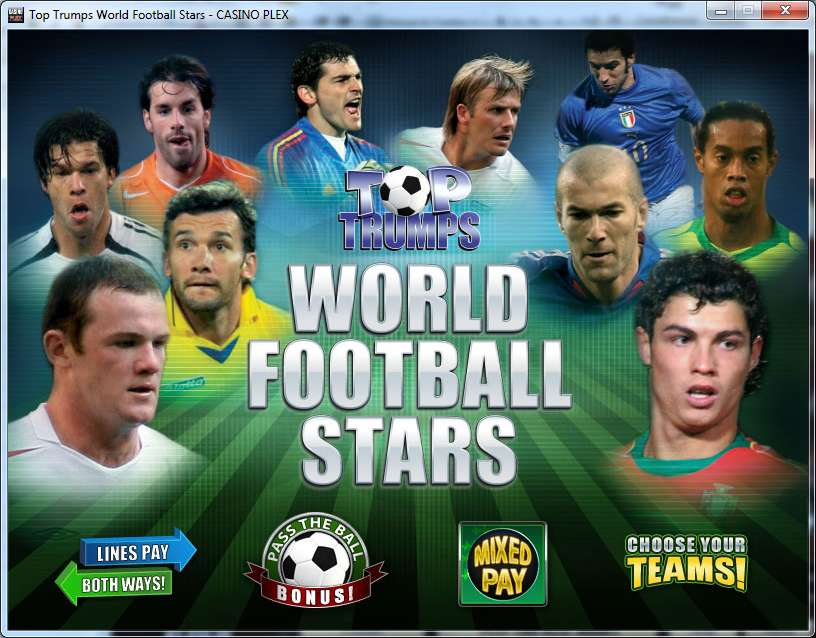 Top Trumps Football Stars by Playtech