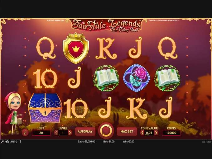 Spiele FairyTale Legends Red Riding Hood Slot - Video Slots Online
