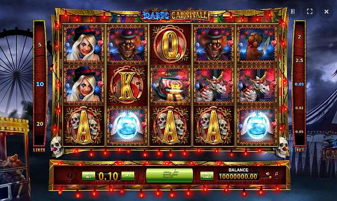 The Dark Carnivale slot game from BF Games will have leave you crying like a baby, so be prepared for some dark entertainment with some big paying potential For all new players at Casino Play For Real at Casino Welcomes players from.registered players.( user votes) Deposit $20, Get $ Free.3/5(15).