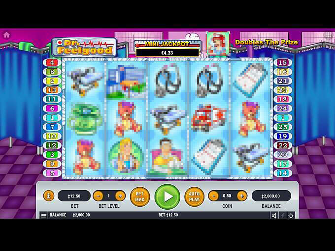Dr. Feelgood Free Play Slot Machine
