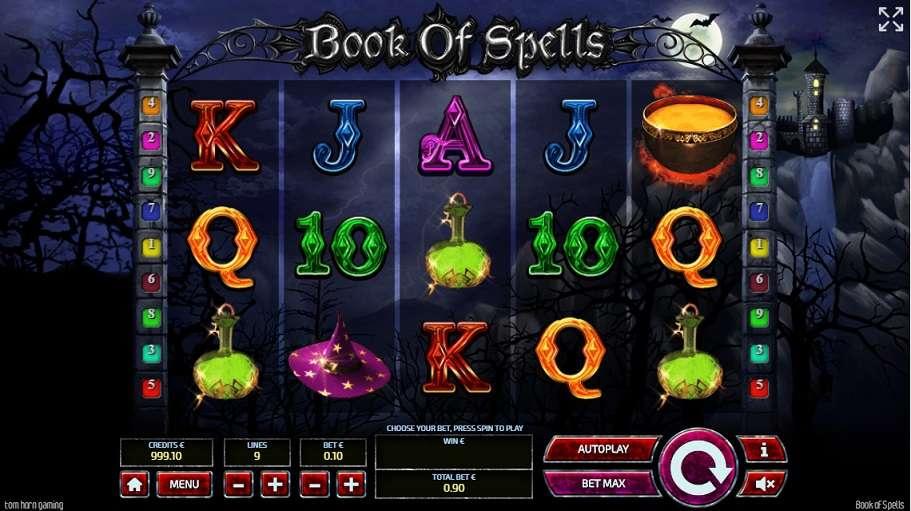 Spiele Book Of Spells (Tom Horn Gaming) - Video Slots Online