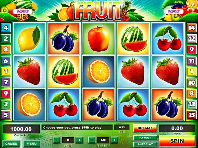 Fruit by Tom Horn Gaming