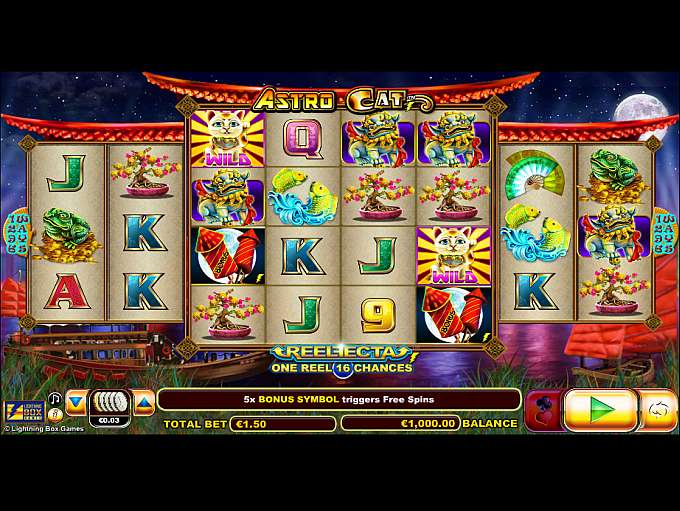 Astro Cat Slots - Play the Free Casino Game Online