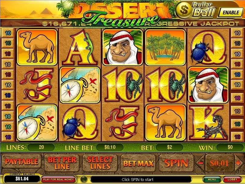 Free Slot Desert Treasure