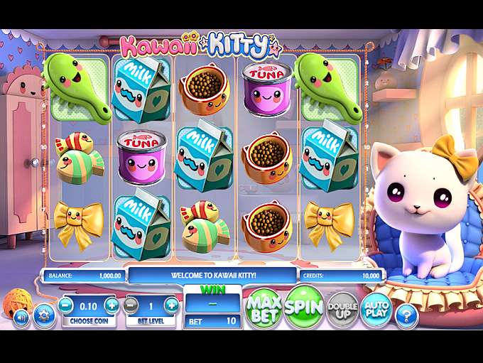 Kawaii Kitty Slots - Free Slot Machine Game - Play Now