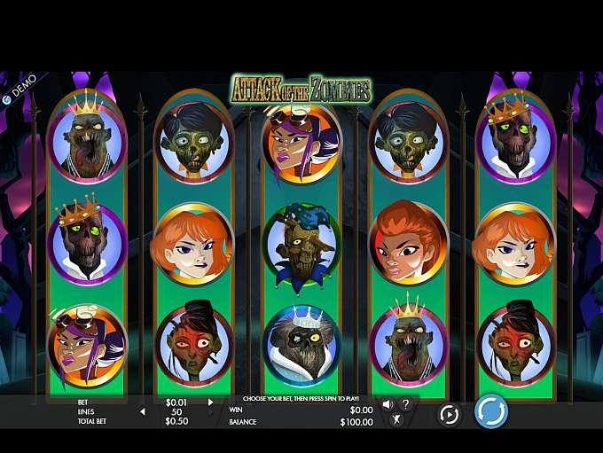 Attack of the Zombies Slot Machine Online ᐈ Genesis Gaming™ Casino Slots