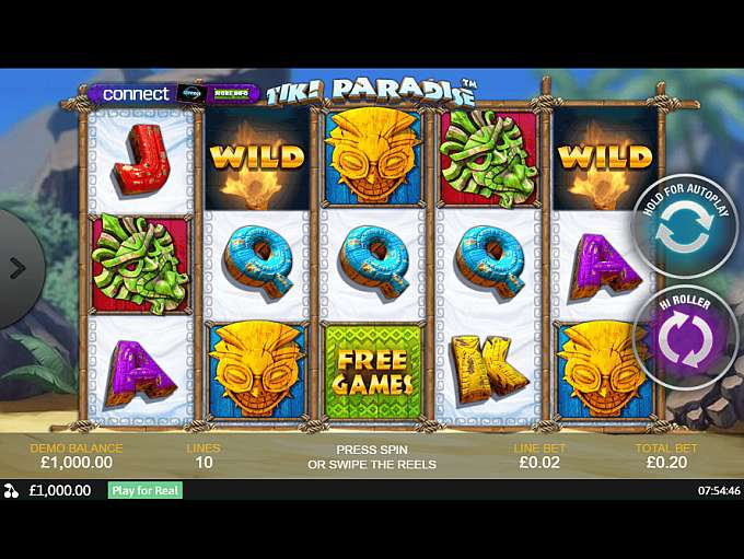 Tiki Paradise Slots - Free to Play Online Casino Game