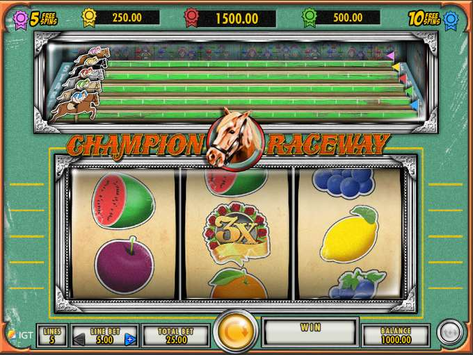 Champion Raceway by IGT