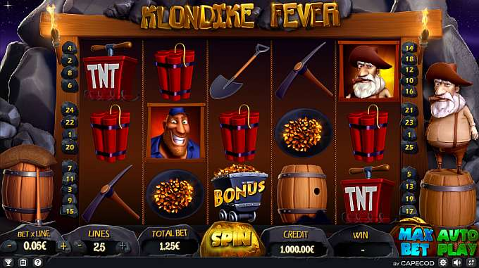 Klondike Fever by Capecod Gaming