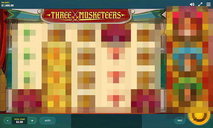 Three Musketeers by Red Tiger Gaming