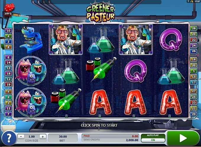 Spiele Greener Pasteur - Video Slots Online
