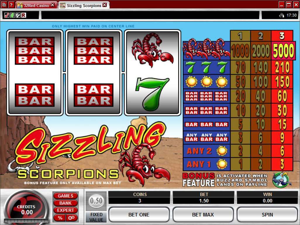 prism online casino sizzling game