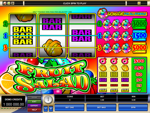 casino games free fruit