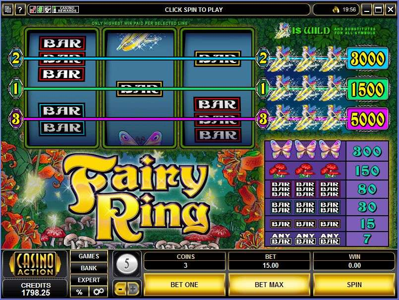 Fairy Ring by MicroGaming