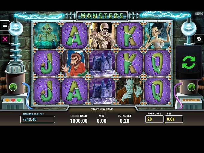 Monster cash slot free