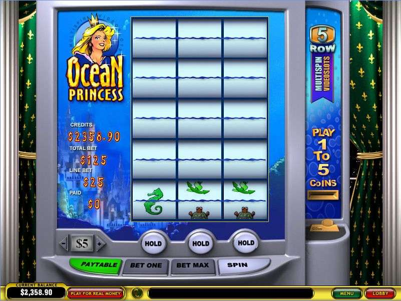 Ocean Princess Multi-Spin Slot by Playtech