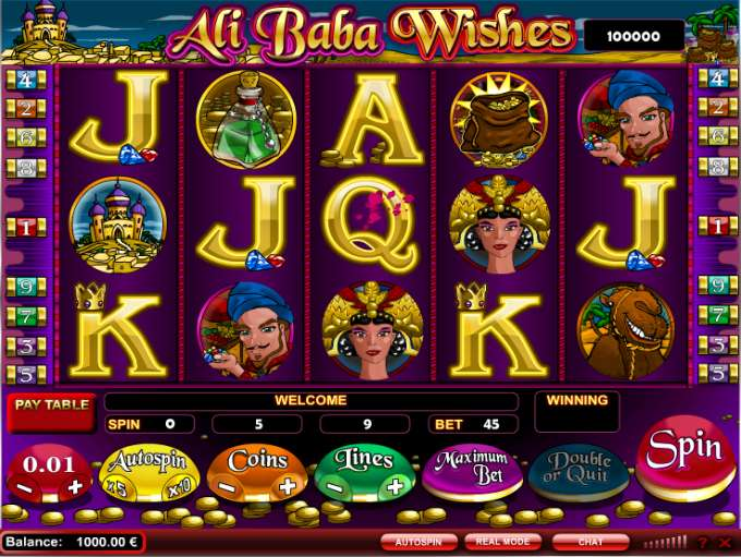 Ali Baba Wishes by iSoftBet