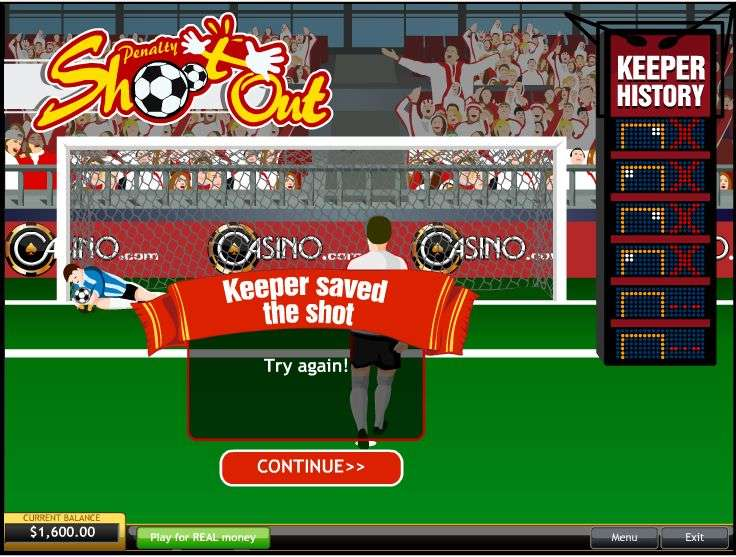 Penalty Shoot Out by Playtech
