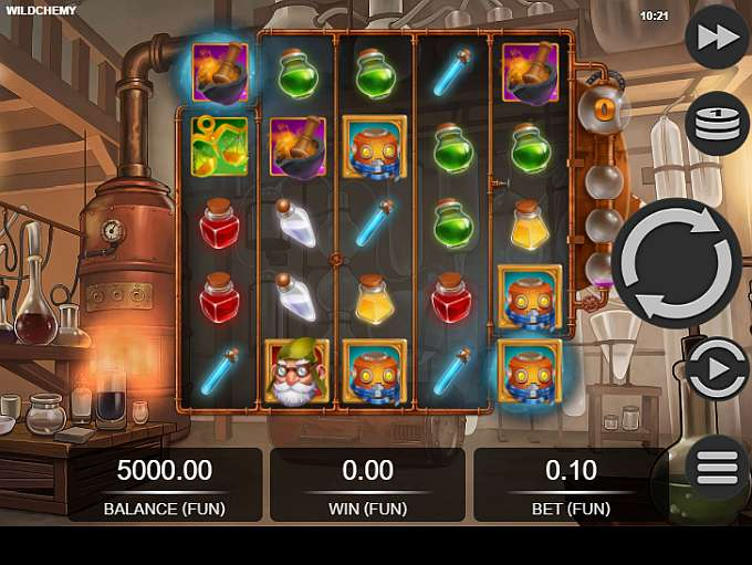 Spiele Wildchemy - Video Slots Online