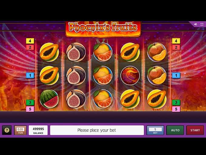 Spiele PhoenixS Fruits - Video Slots Online