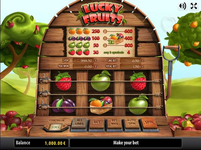 free play online casino spiele fruits