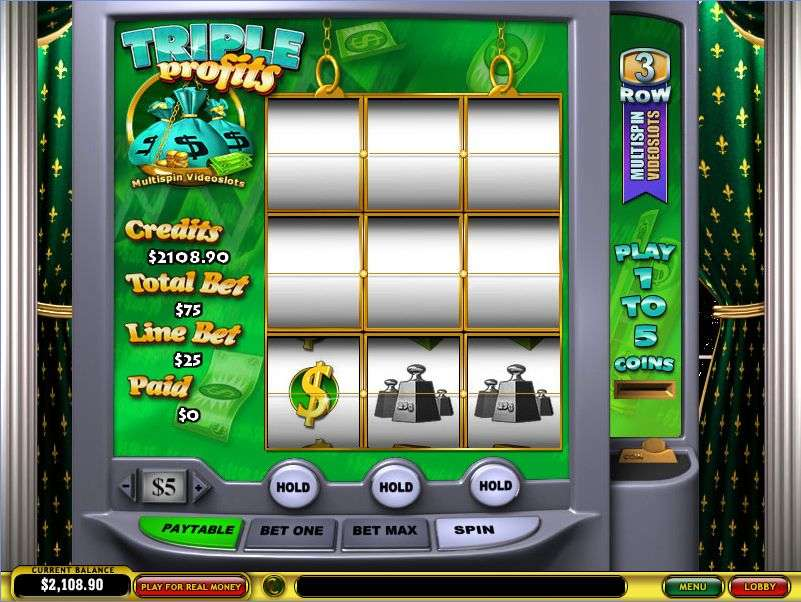 Play the Triple Profits Online Slots at Casino.com UK