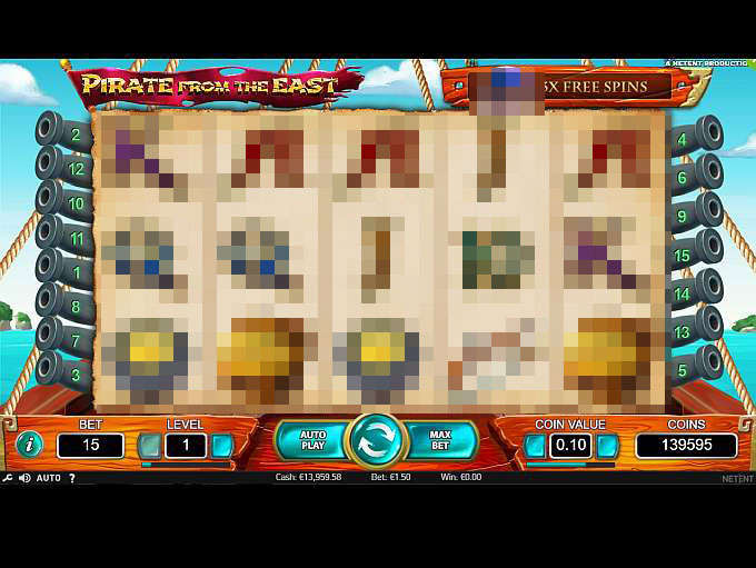 Spiele Pirate From The East - Video Slots Online