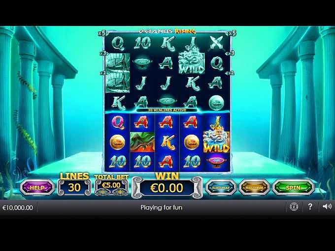 Spiele Oceanus Rising - Video Slots Online