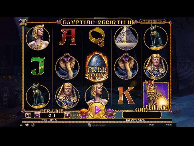 Spiele Egyptian Rebirth II - Video Slots Online