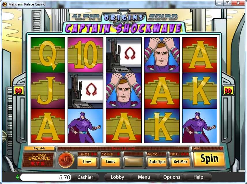 Spiele Captain Shockwave - Video Slots Online