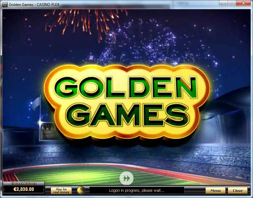 Golden Games Slot by Playtech