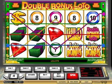 Double Bonus Slot - Play for Free or Real Money