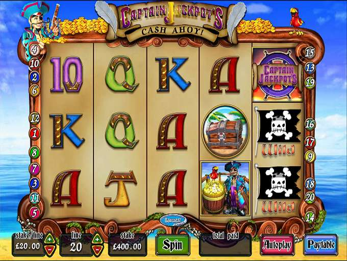 Captain Jackpot's Cash Ahoy by Barcrest