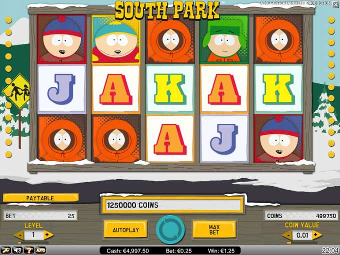 South Park by NetEntertainment