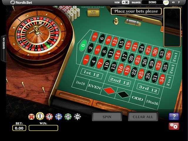 european roulette online gratis