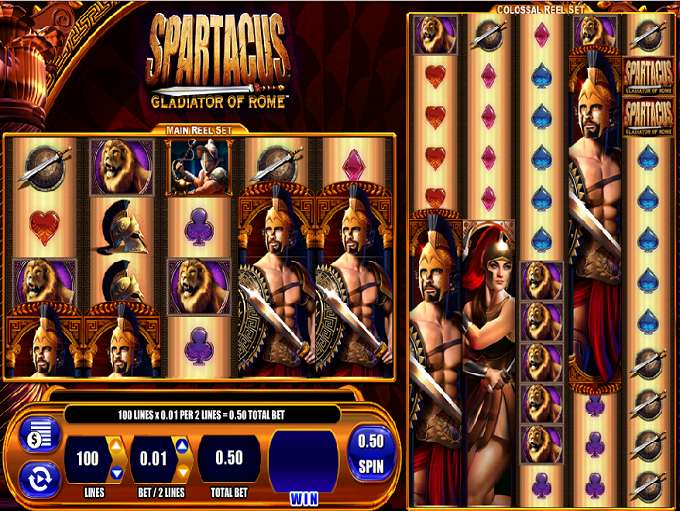 Gladiator Of Rome Slots - Play this Game for Free Online