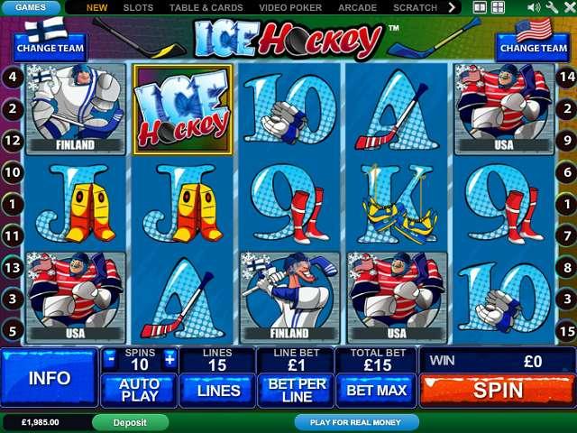 Play Ice Hockey Online Slots at Casino.com New Zealand