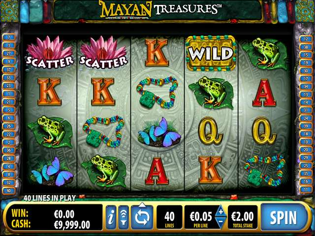 Mayan Treasures Slot - Play Bally Slots Online for Free