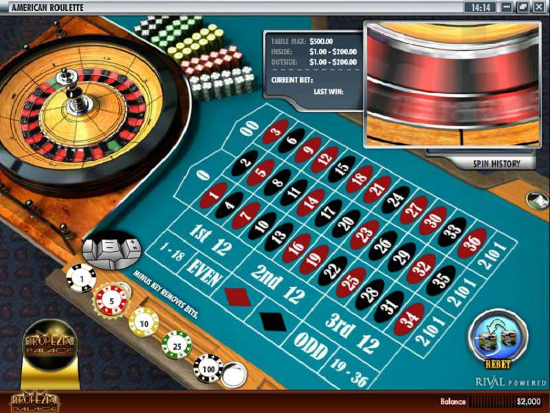 Spiele American Roulette (Rival) - Video Slots Online