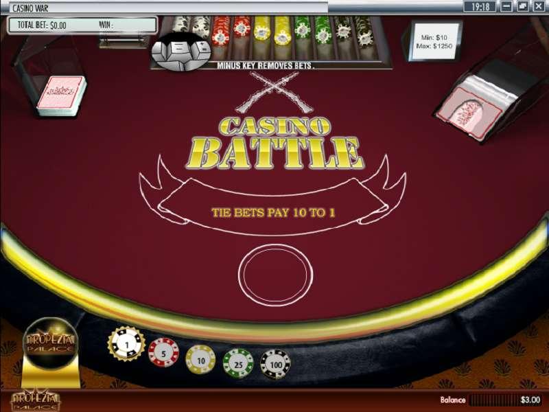 Play Casino War